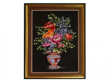 Tranh thêu hoa tnc0605