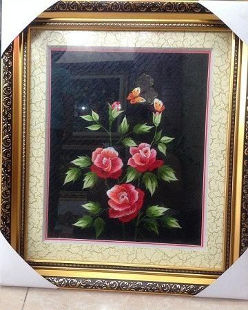 Tranh thêu hoa tnc0607