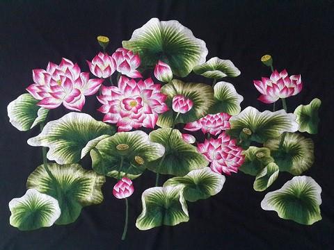Tranh thêu hoa tnc0612