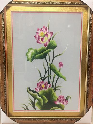 Tranh thêu hoa tnc0629