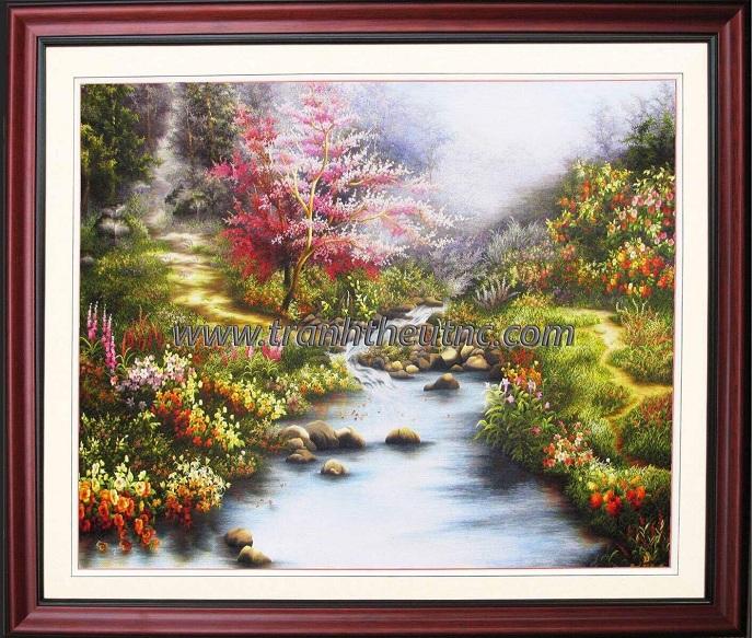 Tranh thêu Phong cảnh tnc1207