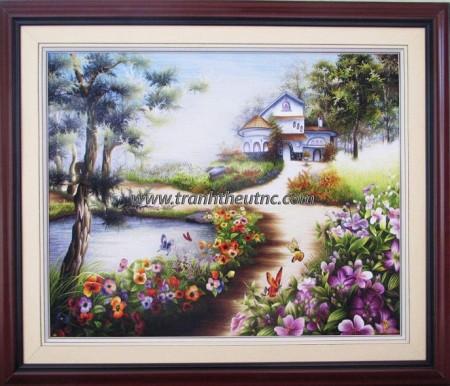Tranh thêu Phong cảnh tnc1208