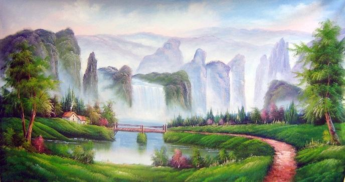 Hình ảnh những ngọn núi sừng sững