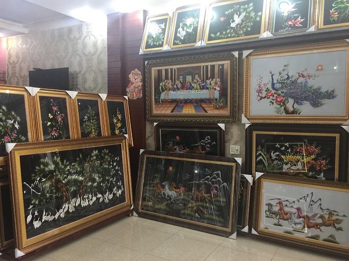 Cửa hàng tranh thêu TNC quận tân phú tphcm
