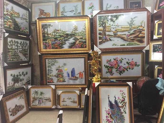 tranh thêu tay tnc quận tân phú tphcm