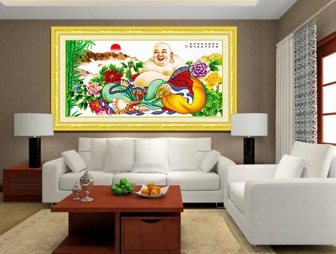 Bức tranh trang trí cao cấp, đồng thời cũng là món quà mừng ý nghĩa