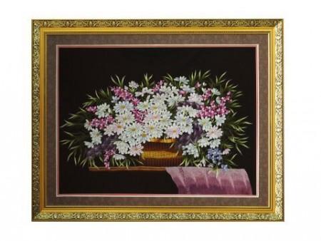 Tranh thêu hoa tnc0603