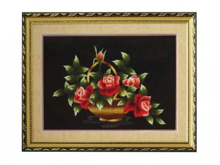 Tranh thêu hoa tnc0604