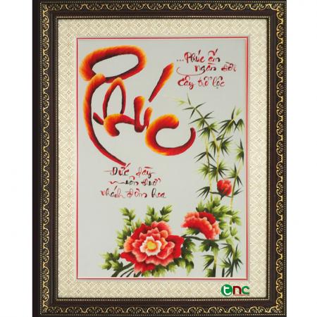 tranh thêu Chữ Phúc tnc1000