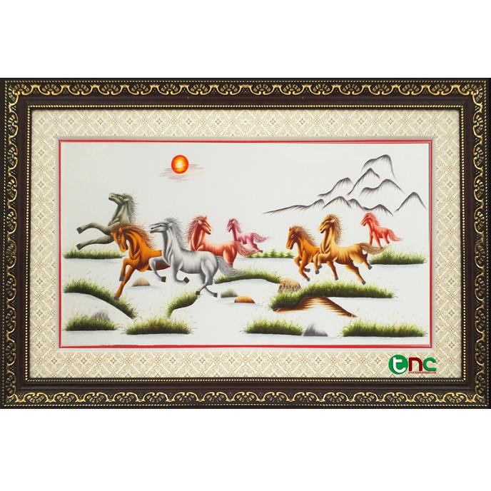 tranh thêu Mã Đáo Thành Công tnc0100