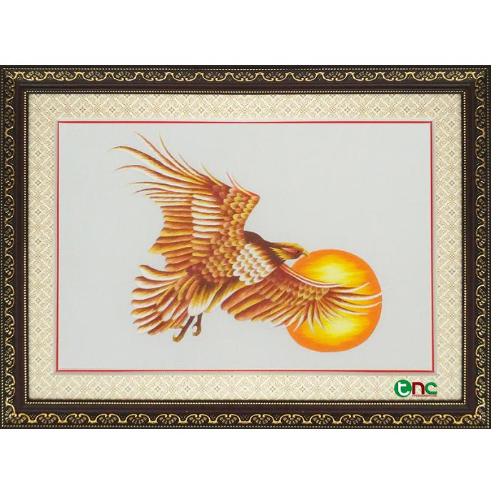 tranh thêu Chim Đại Bàng tnc1005