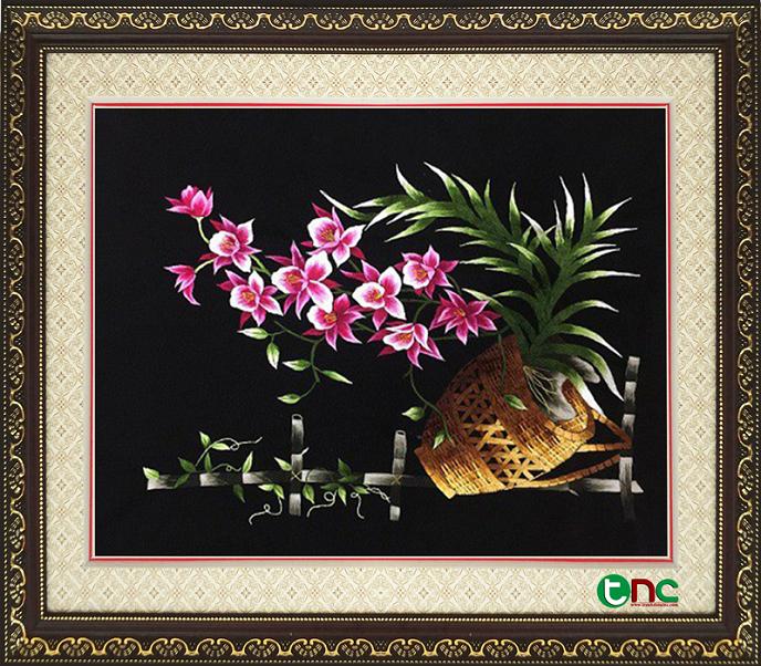 Bật mí về ý nghĩa của dòng tranh thêu hoa cỏ Hoa-061340-x-603