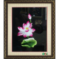 tranh thêu Hoa Sen tnc0608