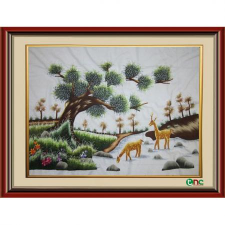 tranh thêu Phong Cảnh tnc1201