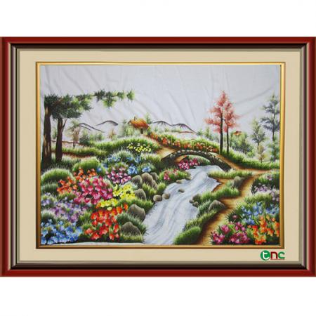 tranh thêu Phong Cảnh tnc1202