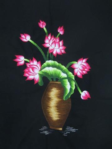 Tranh thêu hoa tnc0618