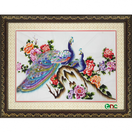 tranh thêu Đôi Công tnc1103