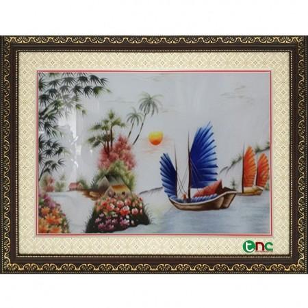 tranh thêu Thuận Buồm Xuôi Gió tnc1011
