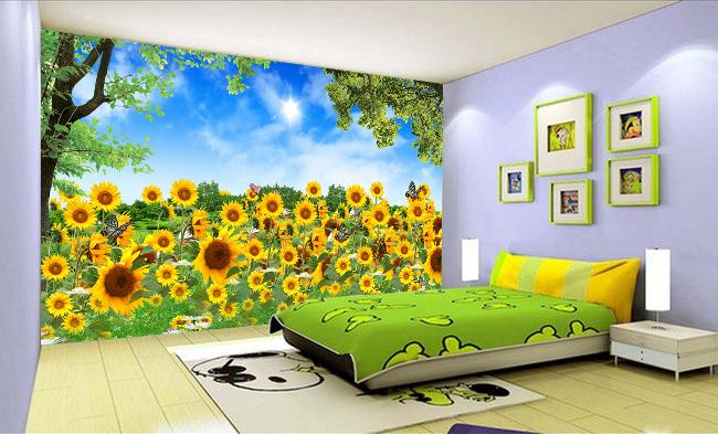 tranh thêu phòng ngủ