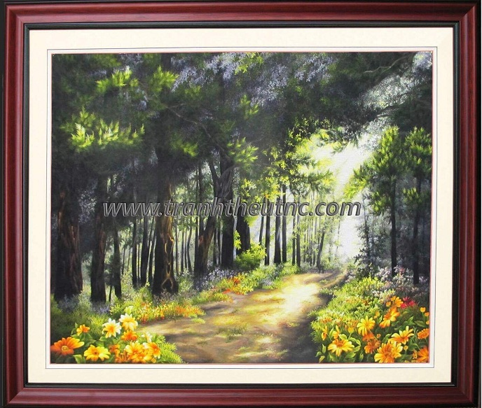 Tranh thêu Phong cảnh tnc1211