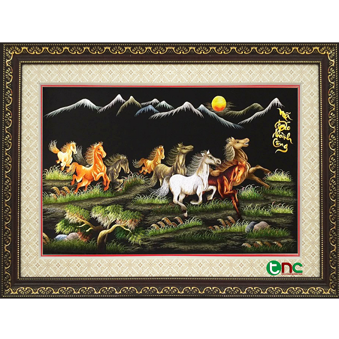 tranh thêu Mã Đáo Thành Công tnc0105
