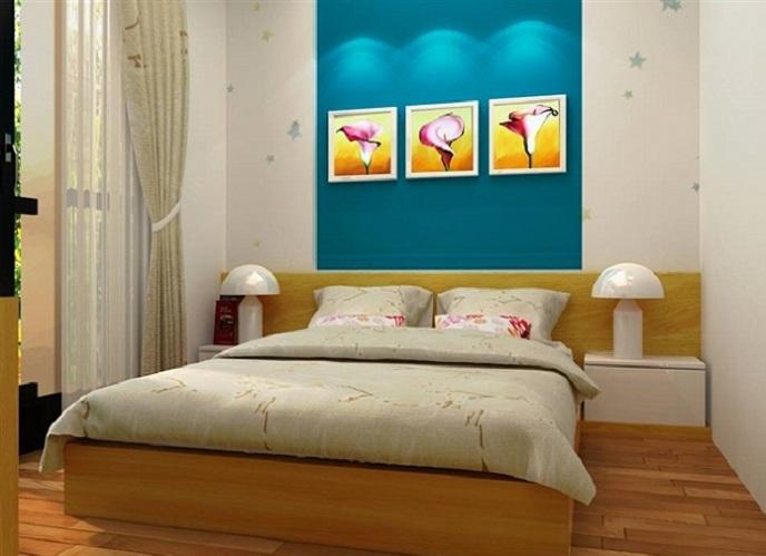 Tranh trang trí phòng ngủ vô cùng đa dạng và độc đáo