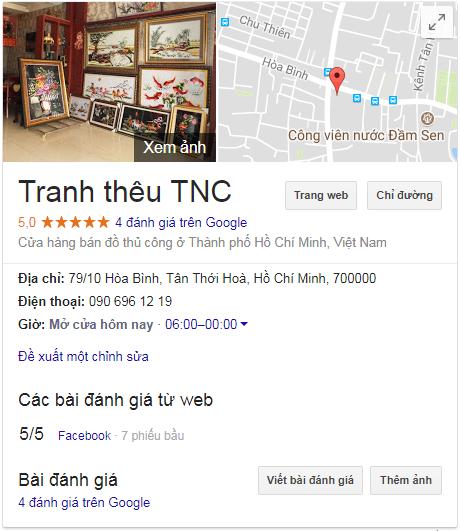 Tranh thêu tnc chi nhánh Tân phú Tphcm