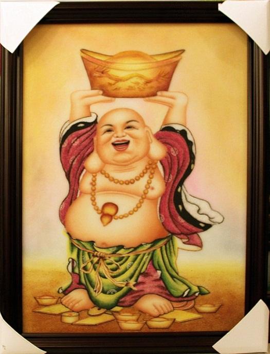 Bức tranh thêu tôn giáo giàu ý nghĩa phong thủy