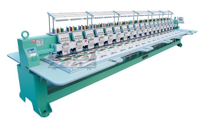 Tốc độ sản xuất chính là một trong những ưu điểm vượt trội của tranh thêu máy