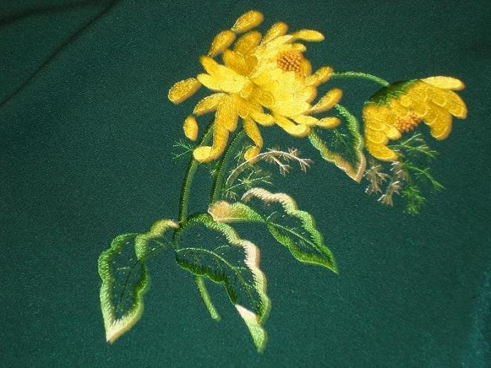 Hoa lan trong nghệ thuật thêu thùa
