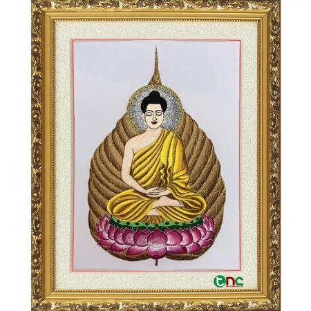 tranh thêu Phật Thích Ca Mâu Ni tnc2106