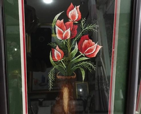 Tranh thêu hoa tnc0636