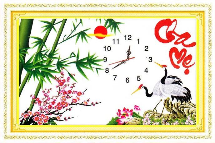 Tranh Thêu Cha Mẹ tnc016