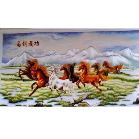 tranh thêu Mã Đáo Thành Công tnc0113