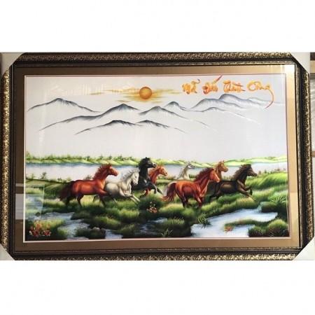 tranh thêu Mã Đáo Thành Công tnc0114