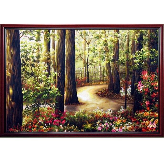 tranh thêu Phong Cảnh tnc1214