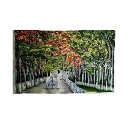 tranh thêu Phong Cảnh tnc1215