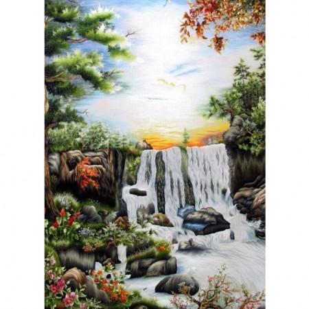 tranh thêu Phong Cảnh tnc1216