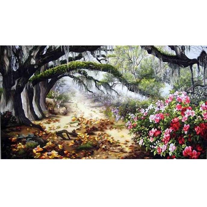 tranh thêu Phong Cảnh tnc1218