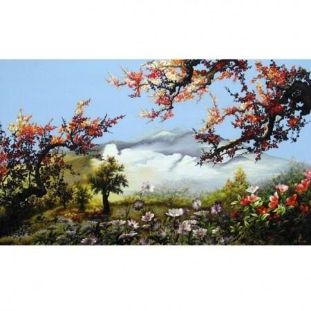 tranh thêu Phong Cảnh tnc1220