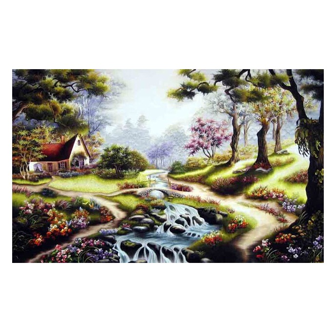 tranh thêu Phong Cảnh tnc1222