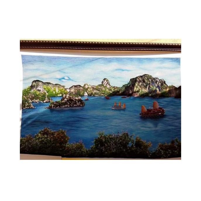 tranh thêu Phong Cảnh tnc1224