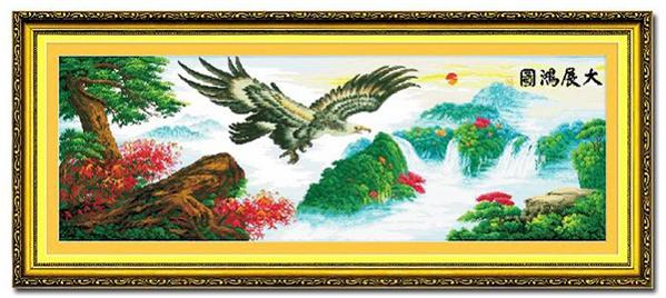 tranh thêu Đại Bàng tnc02