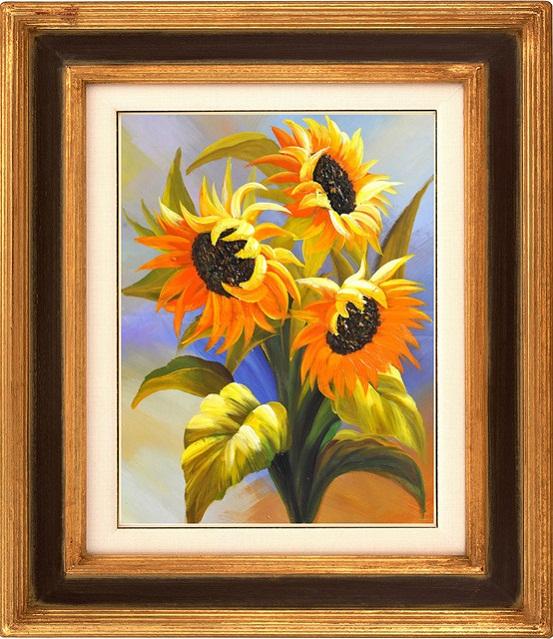 tranh thêu Hoa Cúc tnc010
