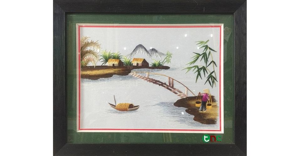 Những bức Tranh Thêu ý nghĩa làm quà tặng cho doanh nghiệp