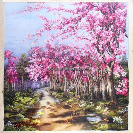 Tranh thêu Phong cảnh tnc1228