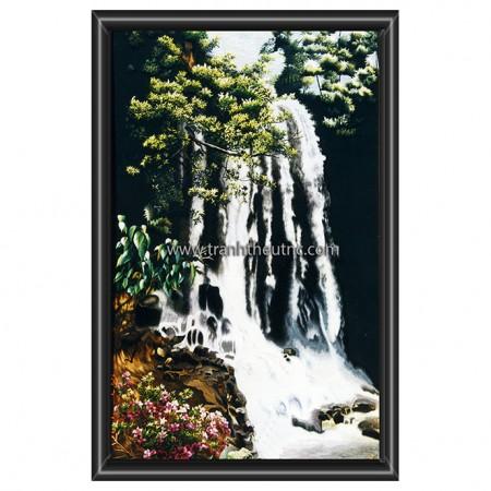 Tranh thêu Phong cảnh tnc1234
