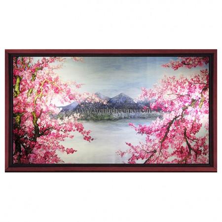 Tranh thêu Phong cảnh tnc1239